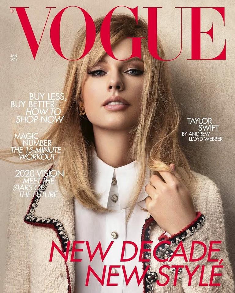 Тейлор Свифт для Vogue