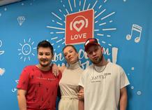 Красавцы Love Radio и Наталья Давыдова