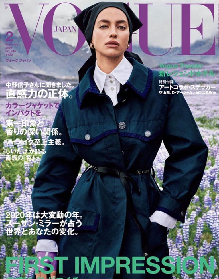Ирина Шейк для японского Vogue