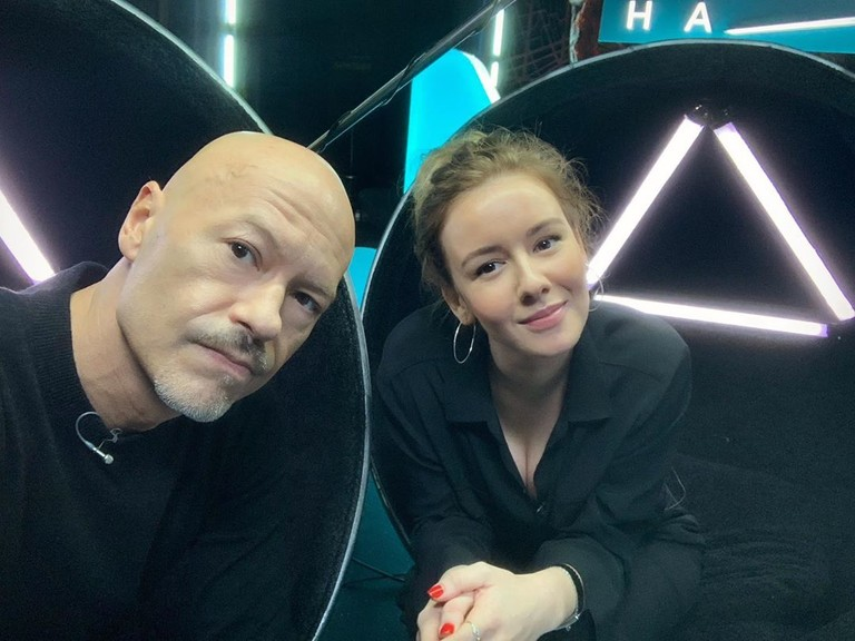 Федор Бондарчук и Ирина Старшенбаум