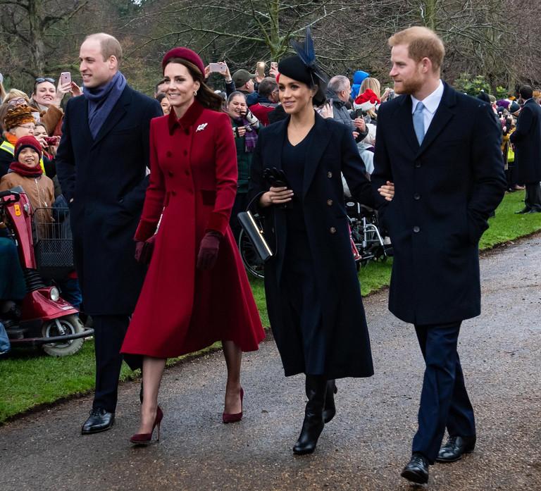 Принц Уильям и Кейт Миддлтон, Меган Маркл и принц Гарри