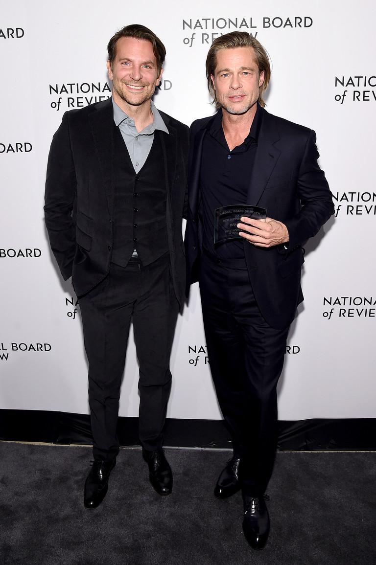 Брэдли Купер и Брэд Питт на NBR Gala 2020