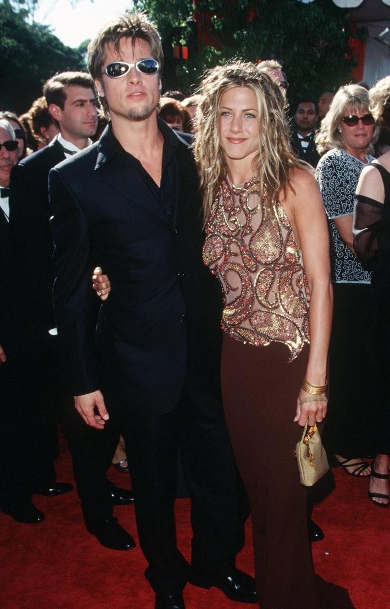 Брэд Питт и Дженнифер Энистон - 1999 год
