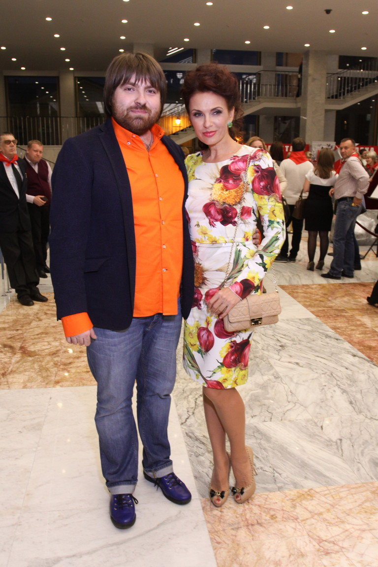 Александр Семин и Эвелина Бледанс