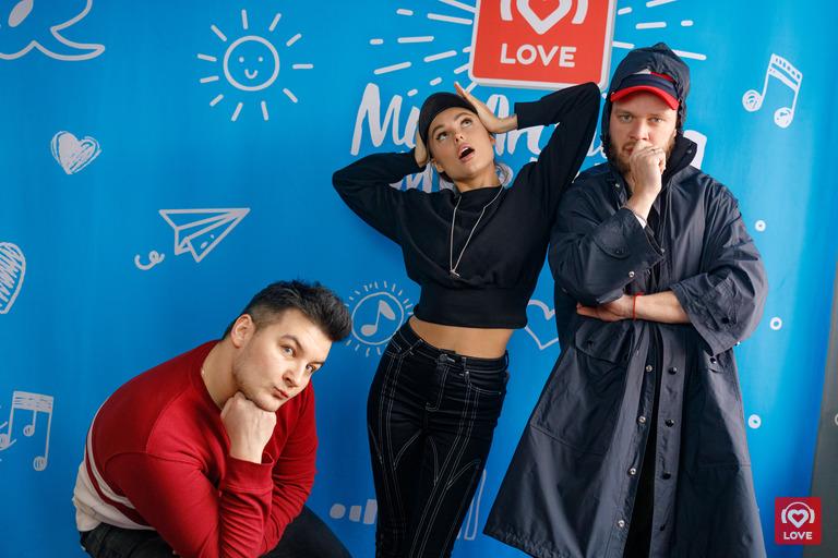 Ханна и Красавцы Love Radio