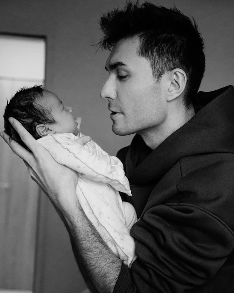 Алан Басиев с сыном Леоном