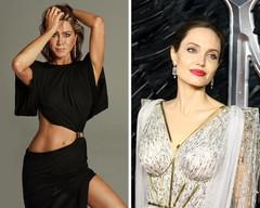Дженнифер Энистон и Анджелина Джоли