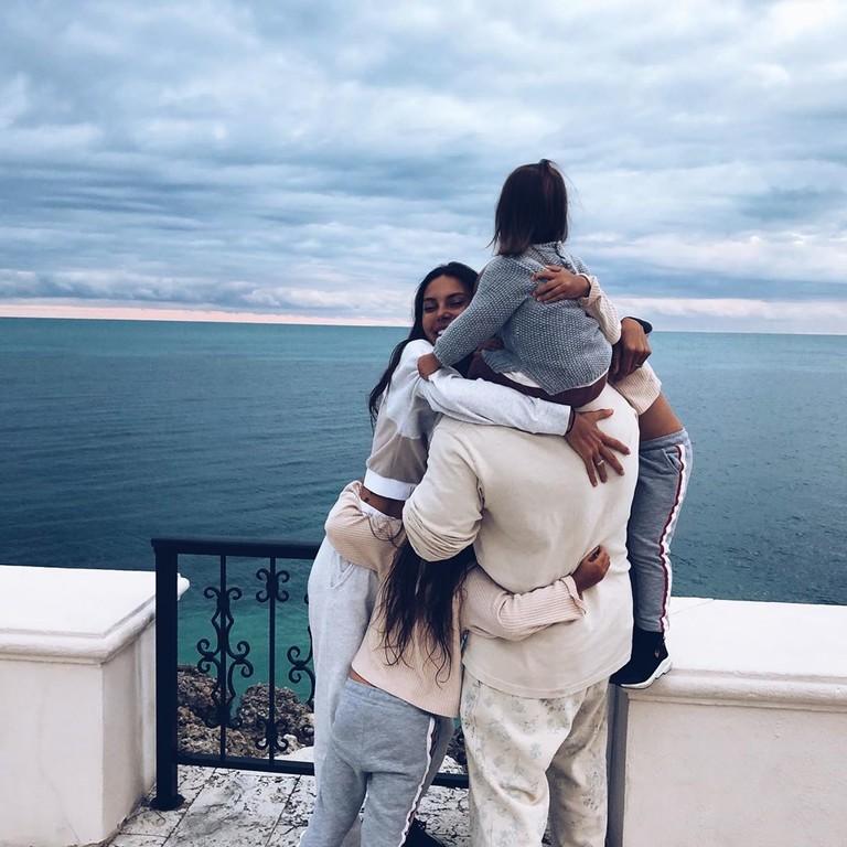 Семья Джигана и Оксаны Самойловой