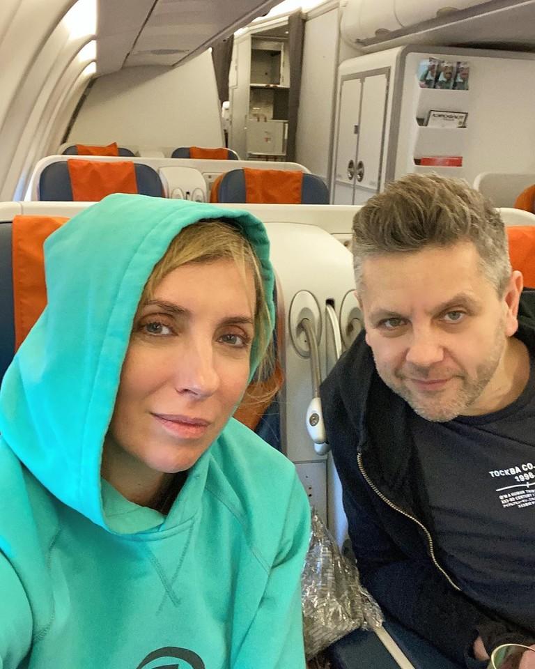 Светлана Бондарчук и Сергей Харченко