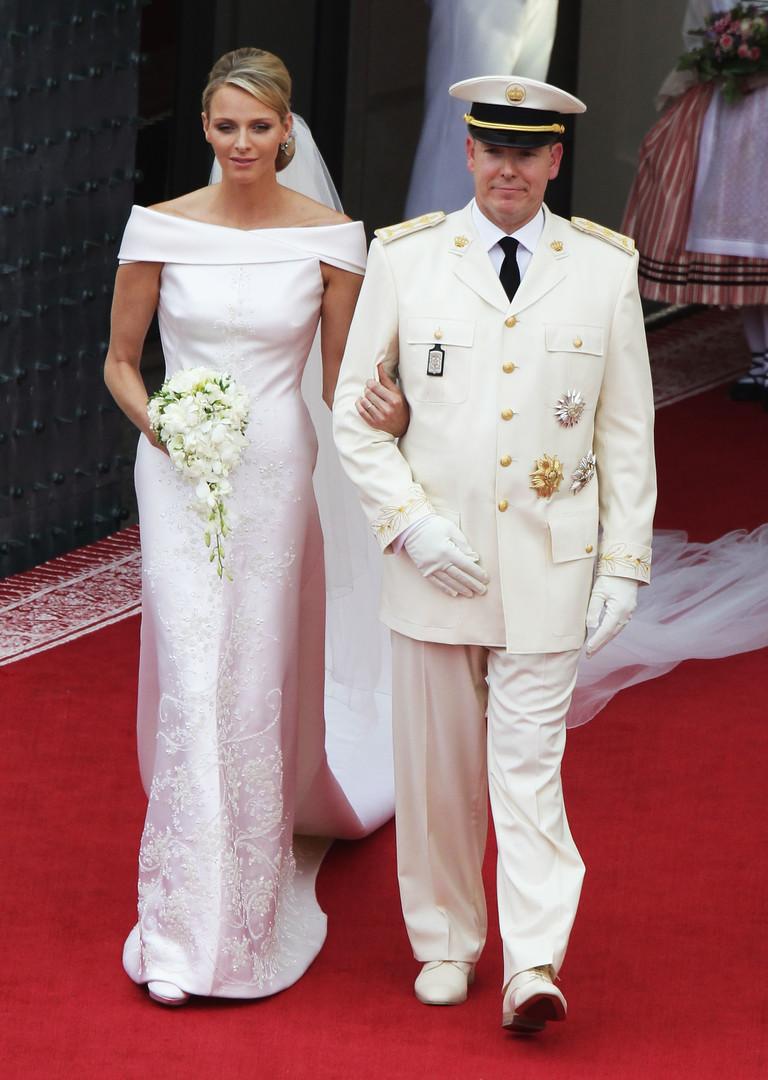 Шарлен Уиттсток и князь Альбер II