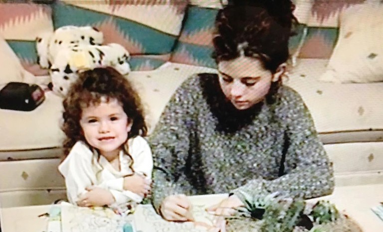 Селена Гомес с мамой