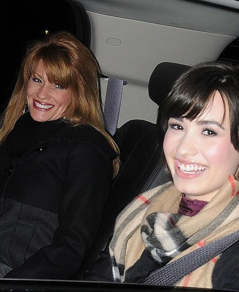 Деми Ловато с мамой