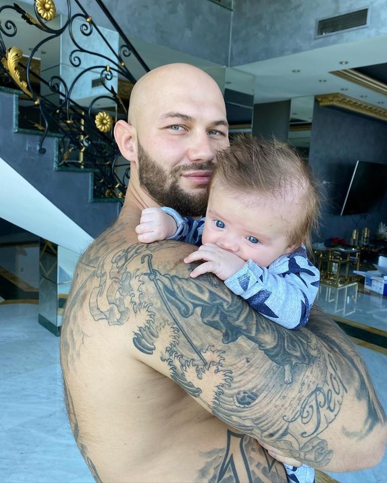 Джиган с сыном