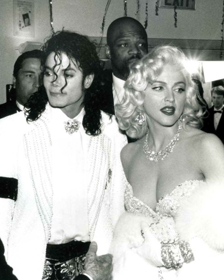 Мадонна и Майкл Джексон