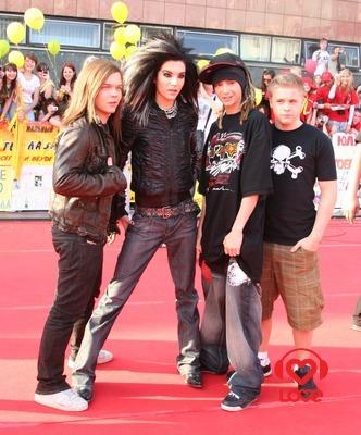 Tokio Hotel на Премии