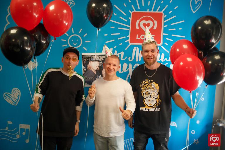 Пашу и Красавцы Love Radio