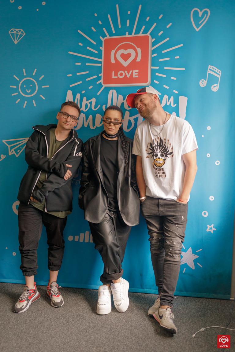 Ёлка и Красавцы Love Radio