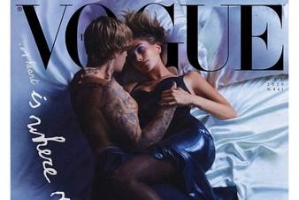 Горячо! Откровенная фотосессия Биберов для обложки итальянского Vogue