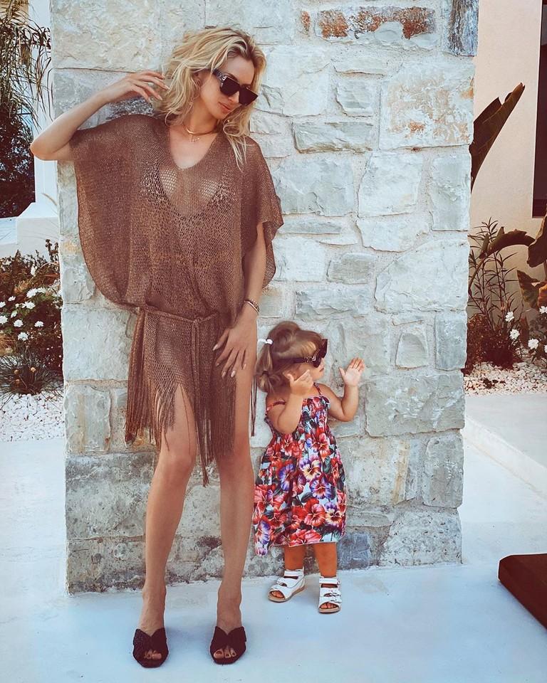 LOBODA с дочкой Тильдой