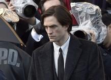 Роберт Паттинсон и Колин Фаррелл на съемках «Бэтмена»