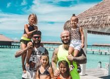 Тимати и Джиган с детьми