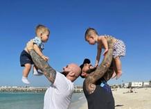 Тимати и Джиган с сыновьями