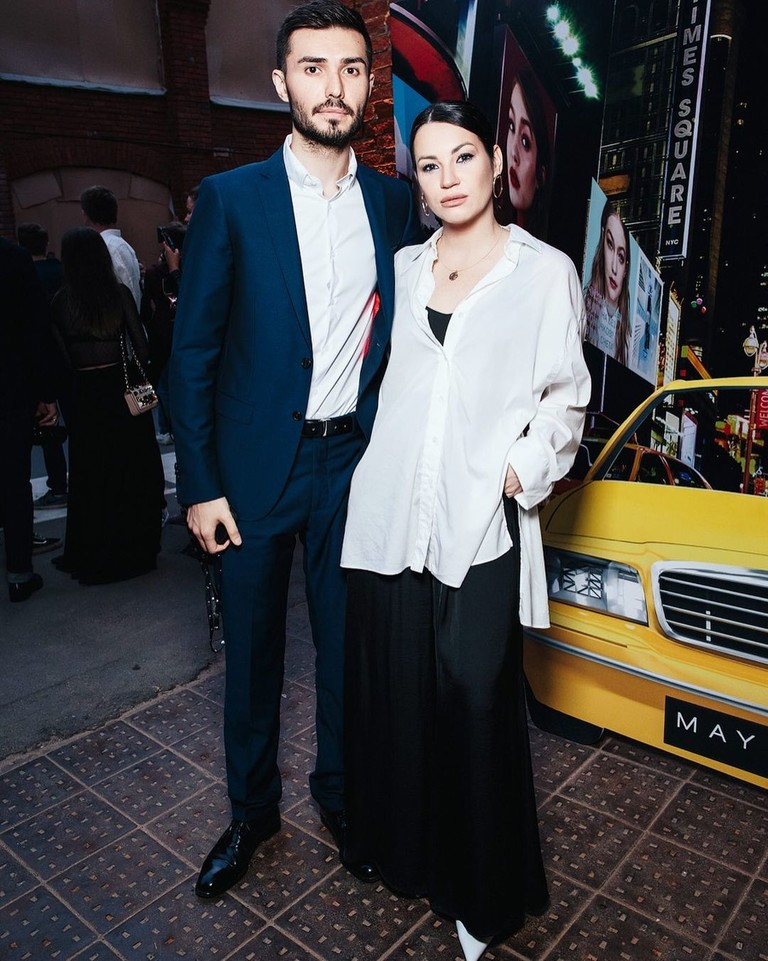 Ида Галич с мужем