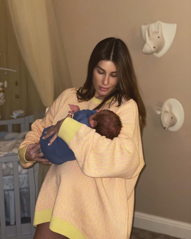 Кети Топурия с сыном