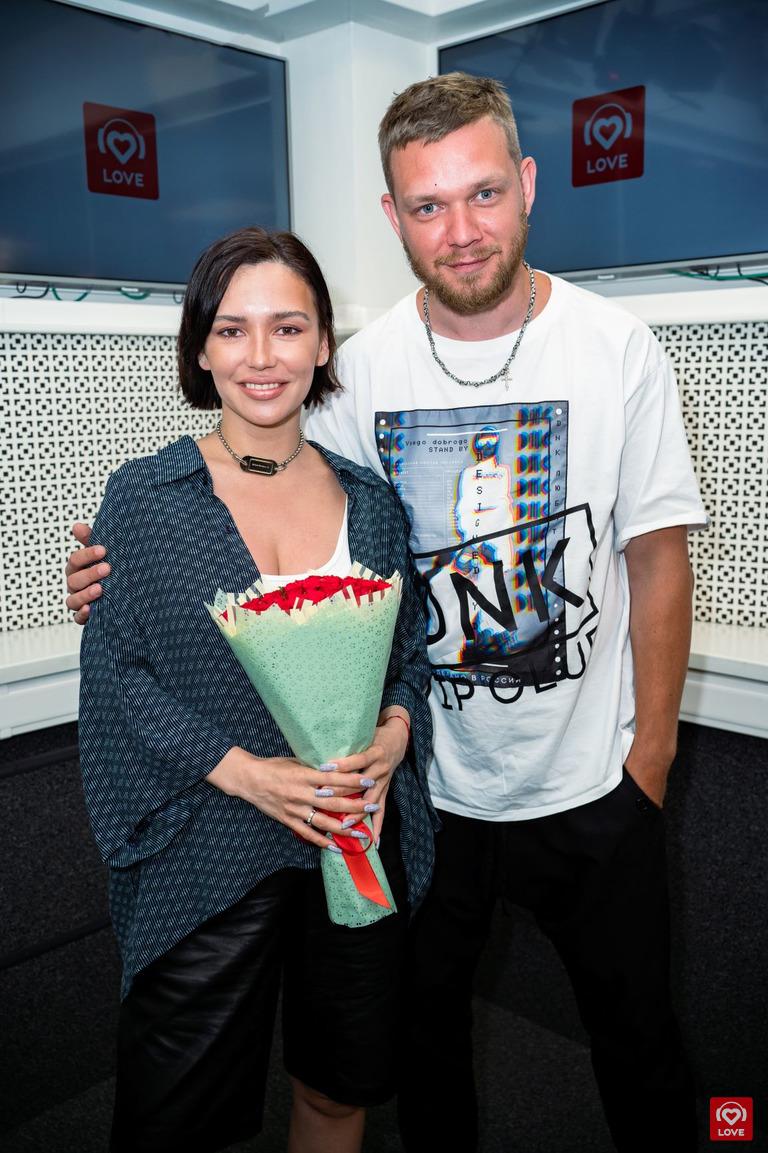 Ольга Серябкина и Денис Курочкин