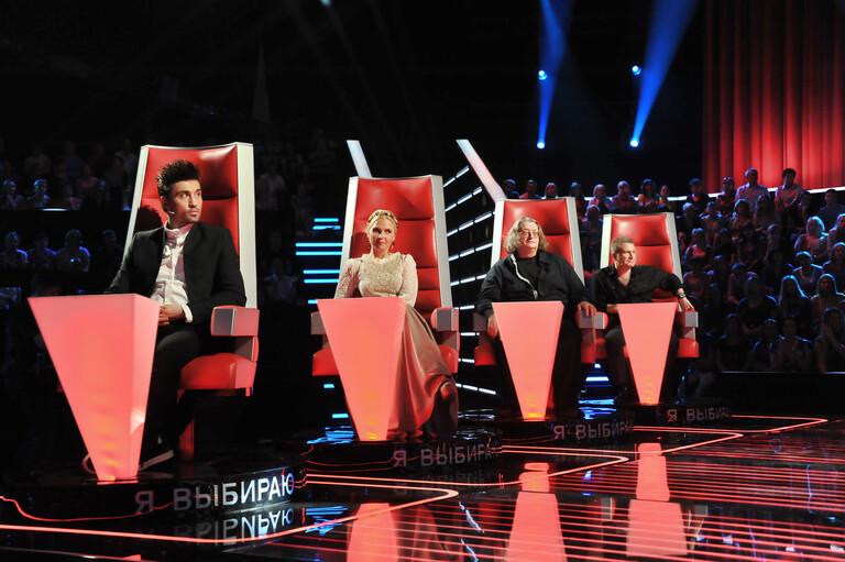 Наставники первого сезона шоу «Голос»
