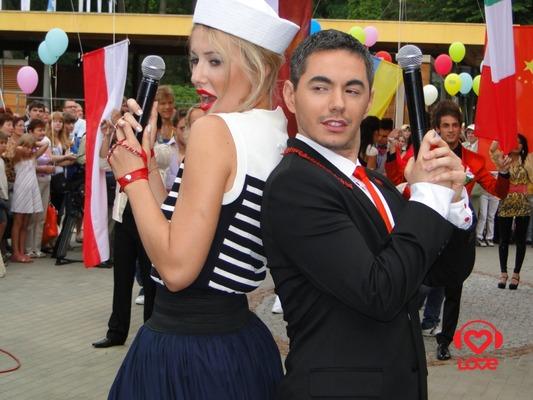 Ксения Собчак и Тимур Родригез