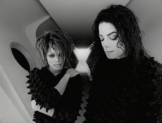 Джанет и Майкл Джексоны