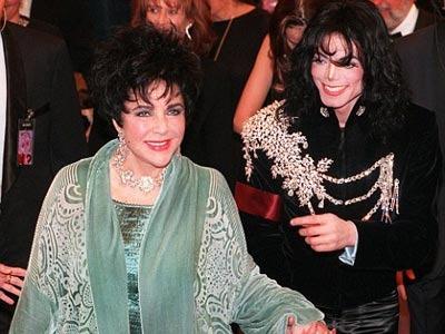 Элизабет Тейло и Майкл Джексон