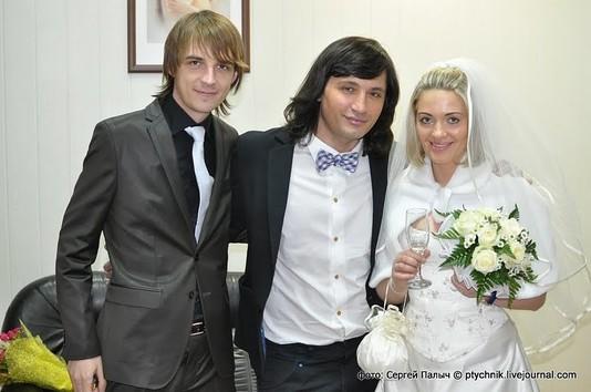 Рустам Солнцев стал единственным гостем на свадьбе сына Сергея Зверева