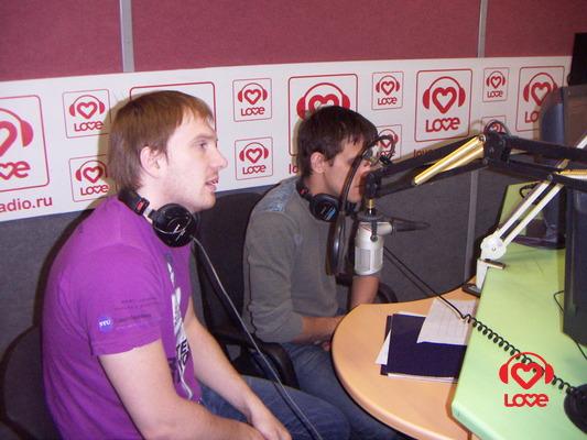 Love Radio: Андрей Бурковский и Михаил Башкатов в эфире брэд питт и анджелина джоли