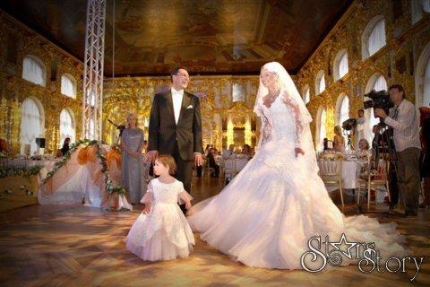 фото свадьба волочковой