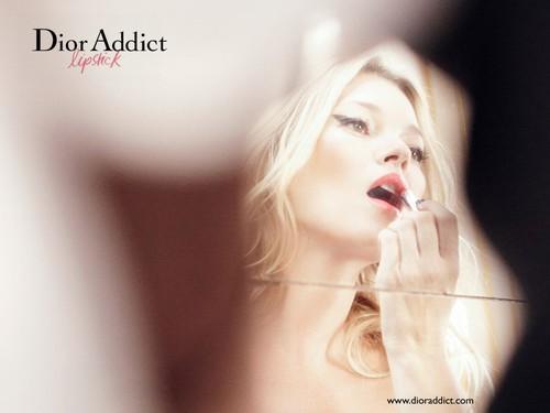 Кейт Мосс для «Dior Addict»