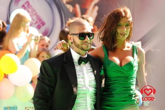Тимати и Мила Волчек