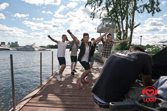 Съемки клипа Ивана Чебанова на сингл «Сердце»