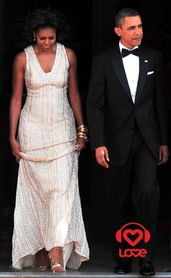 Мишель и Барака Обама