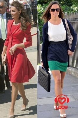 Сестры Миддлтон провозглашают новый модный тренд