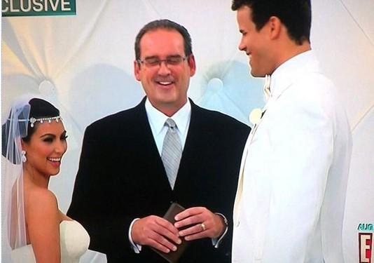 Первые фотографии свадьбы Ким Кардашиян