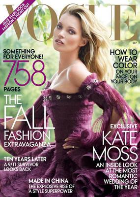 Кейт Мосс, «Vogue»