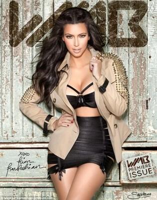 Ким Кардашиан, «World's Most Beautiful magazine» (3D-обложка)