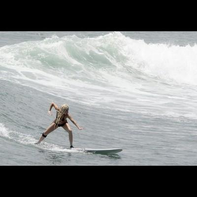 Lady GaGa покоряет волны