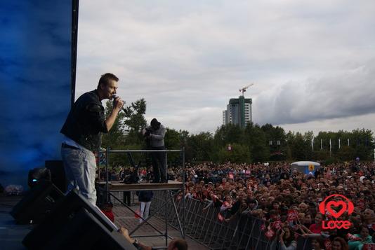 День города вместе с LOVE RADIO. Алексей Воробьев