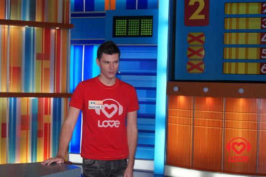 Ведущие LOVE RADIO в игре 100 к 1. Максим Привалов