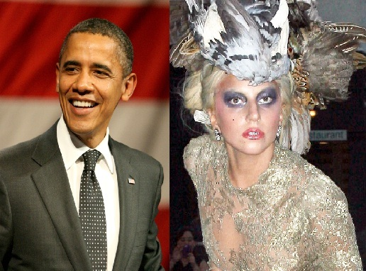 Lady GaGa напугала Барака Обаму