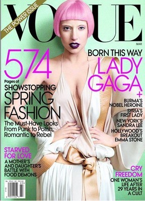 """Американский """"Vogue"""" назван Журналом Года 2011"""