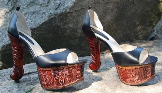 Необычная обувь знаменитостей